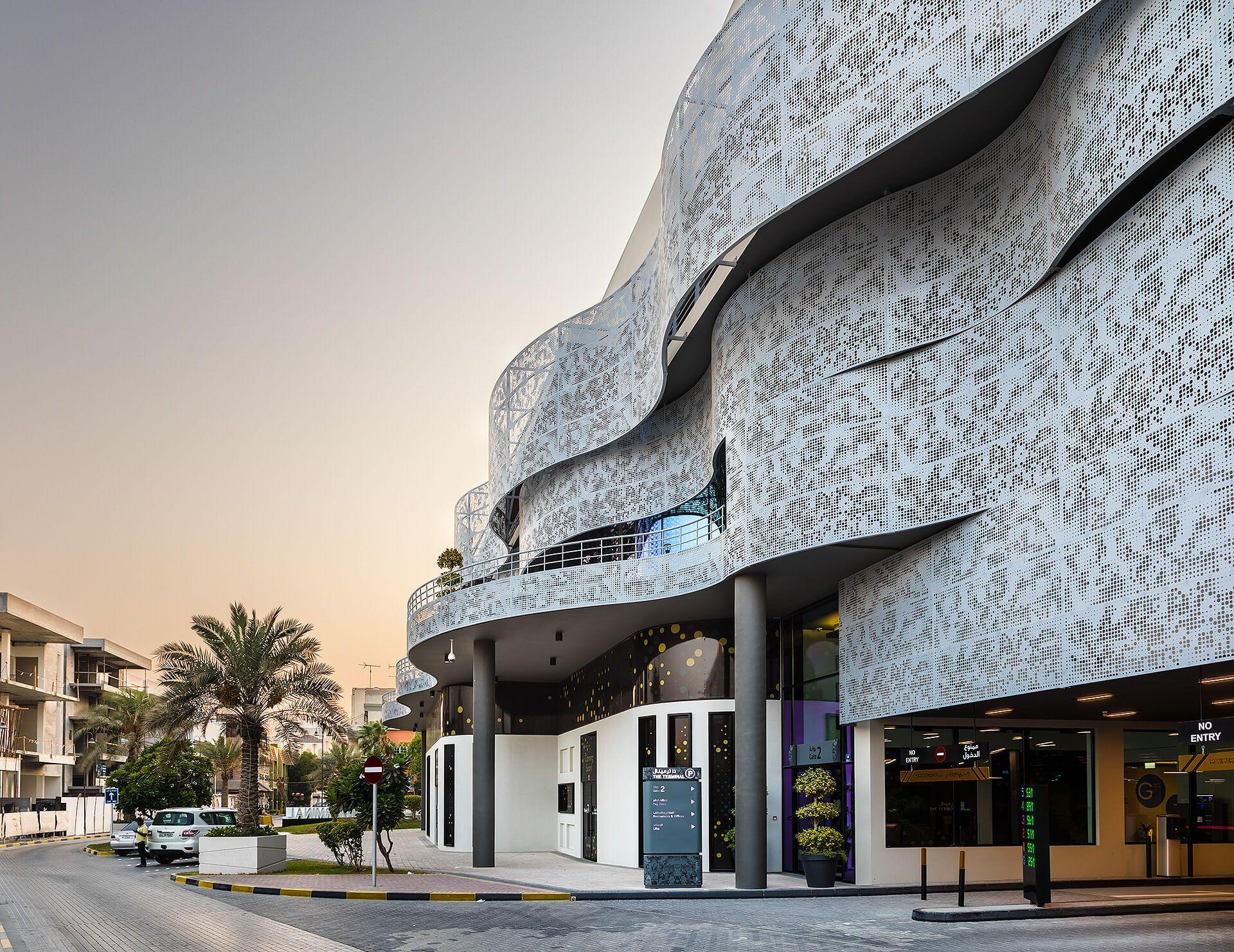 Multi Storey Car Parking Building in Adliya